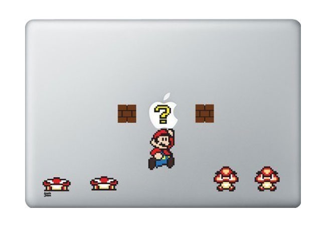 Mario iPad And MacBook Decals