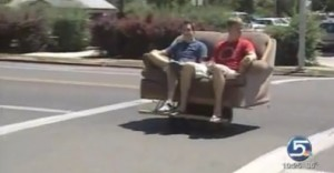 University Brings Down The Hammer On The Motorized Couch
