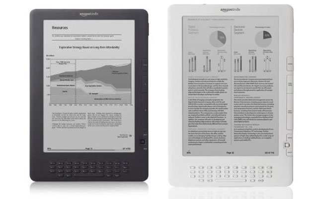Amazon Launches New Kindle DX