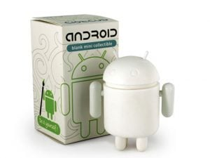 Paintable Android Figure