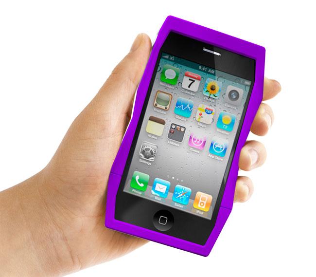 Quirky Tilt iPhone 4 Bumper Case