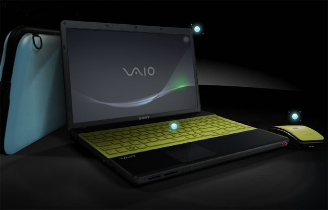 Sony Lets You Customize Your New Vaio Notebook With E Color