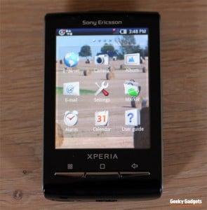 Sony Ericsson X10 Mini Review