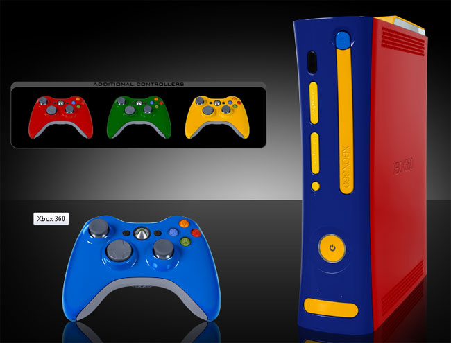 New Microsoft Xbox 360 Gets The Colorware Treatment