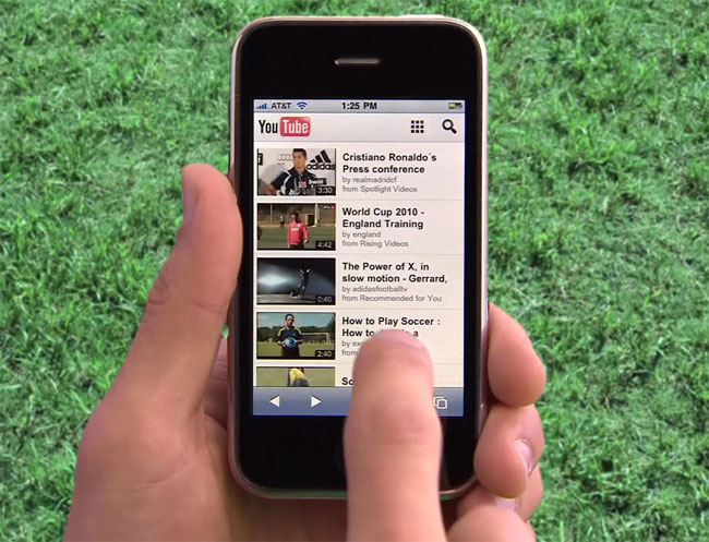 YouTube Launches HTML5 Mobile Website