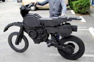 8-bit Real-Life Excitebike