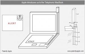 Apple Files A Telephonic MacBook Patent