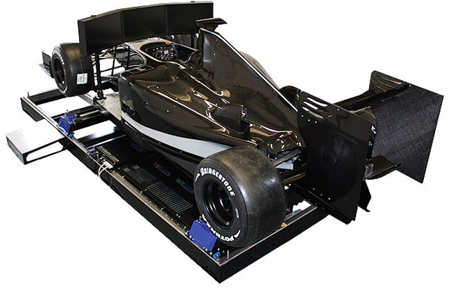 BRD 06 Full Car Racing Simulator