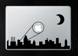 Bat Signal MacBook Decal