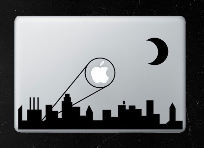 Bat Signal MacBook Decal