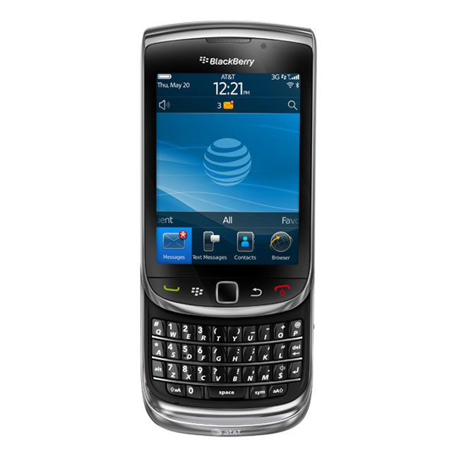 AT&T BlackBerry Torch 9800 Gets Official