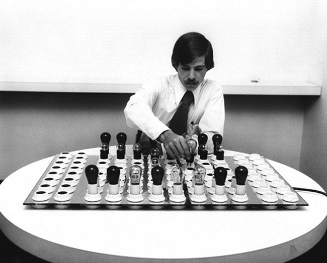 Electric Light Chess Set