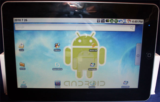FlatPad A10 10 Inch Android Tablet