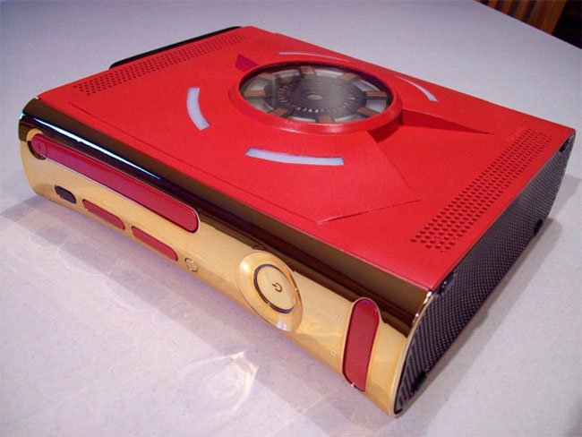 Iron Man Custom Xbox 360