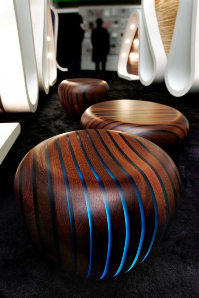 LED Wood Furniture