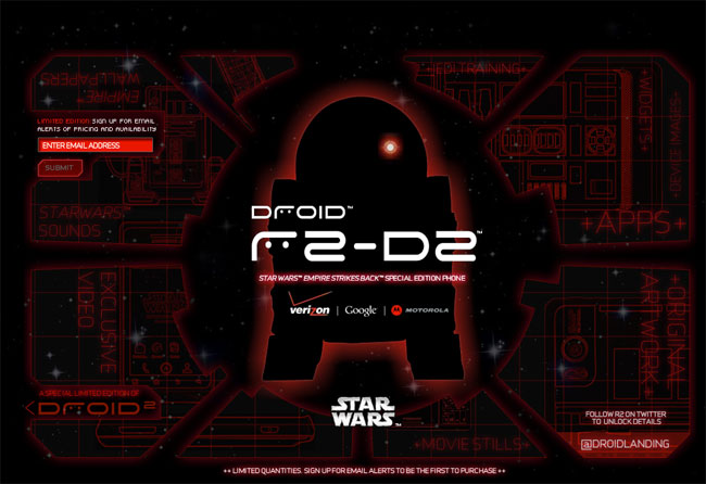 Limited Edition R2-D2 DROID 2