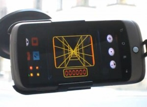 Luke Skywalkers X-wing Fighter GPS Targeting Computer On Android (video)