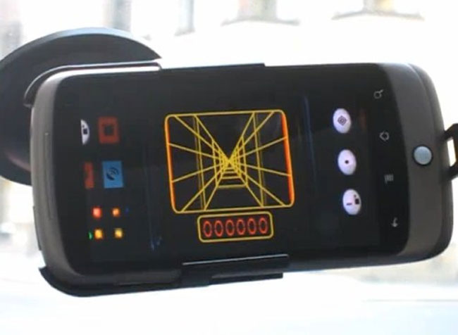 Luke Skywalkers X-wing Fighter GPS Targeting Computer On Android
