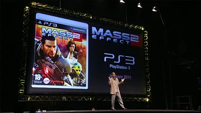 Mass Effect 2 Coming To PS3 In 2011