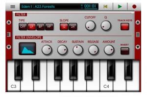 NanoStudio iPhone Music Editing App (video)