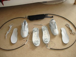 Nike Air Maxes and Wii Balance Board Mod