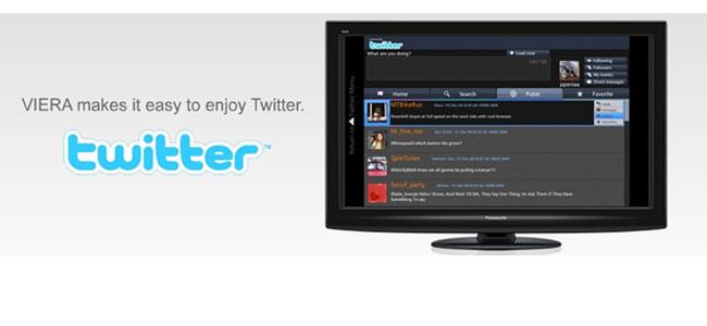 Panasonic Adds Twitter App