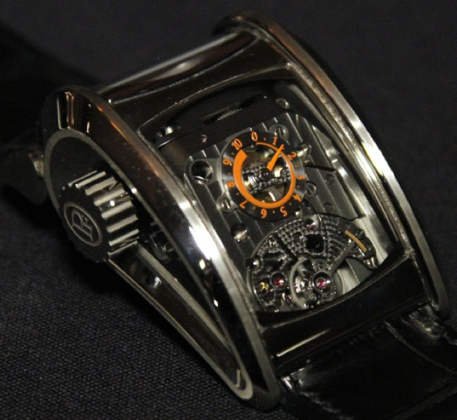 Parmigiani Bugatti Super Sports Watch Compliments The Car