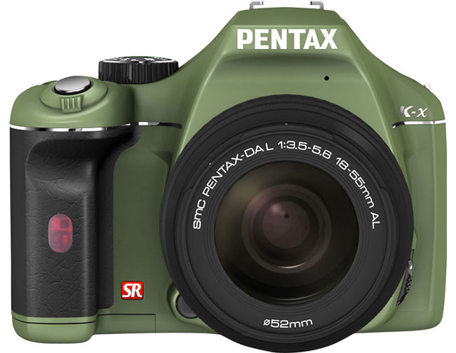Pentax K-x DSLR Gets Some New Colors