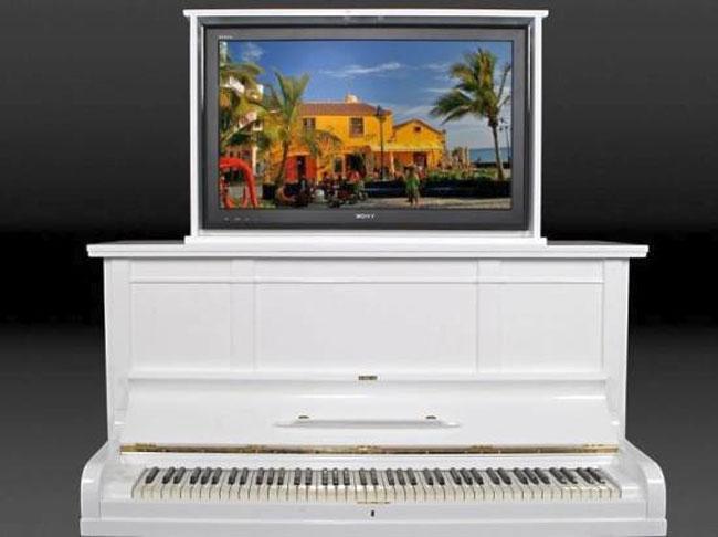 Piano TV Cabinet