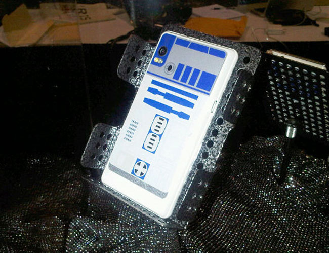 R2-D2 Motorola Droid 2 Leaked (Photos)