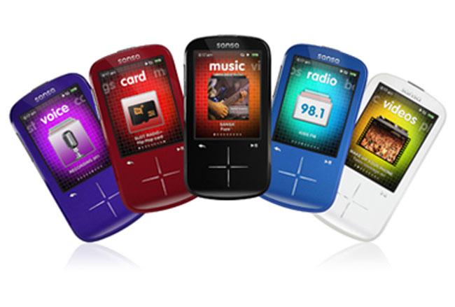 SanDisk Sansa Fuze+ MP3 Player Announced