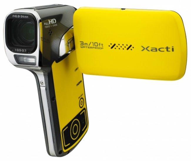 Sanyo Xacti VPC-CA102YL Waterproof Camcorder