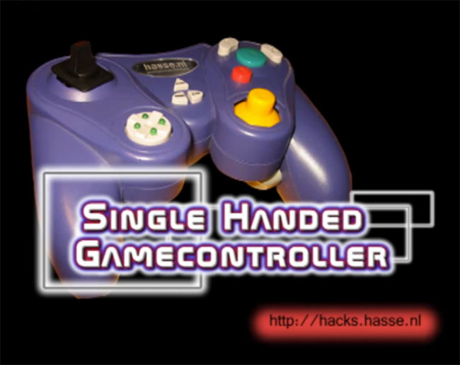 Single-Handed Game Controller Mod
