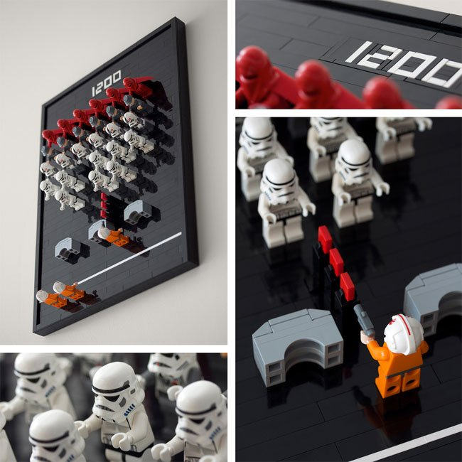 Star Wars Lego Space Invaders