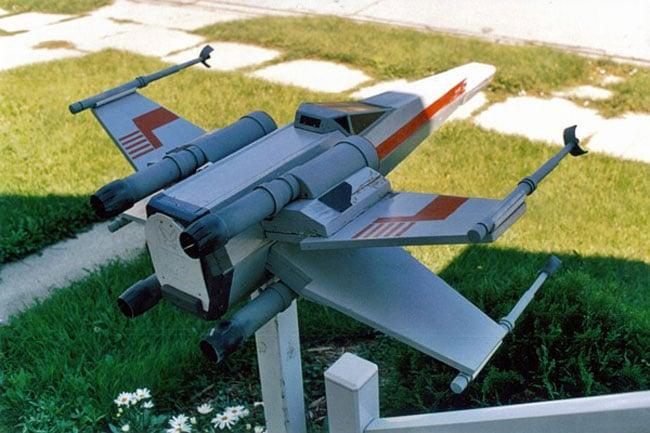 Star Wars X-Wing Mailbox