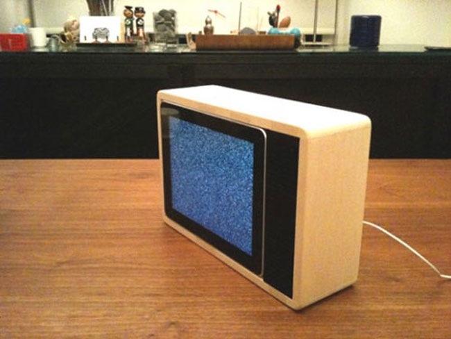 TV iPad Dock