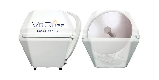 VuQube Portable Satellite Dish