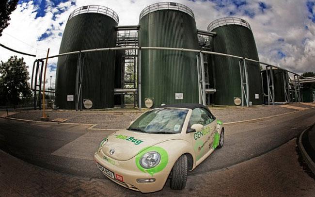 Volkswagen Bio-Bug Car Runs On Human Waste