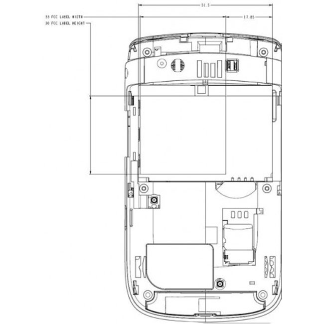 BlackBerry 9800 Slider Gets FCC Approval