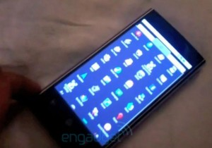 Dell Thunder Android Smartphone Prototype (Video)