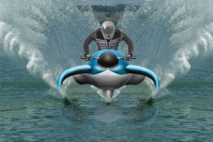 Dolphin Hydrofoil is the Jet Ski of the Future