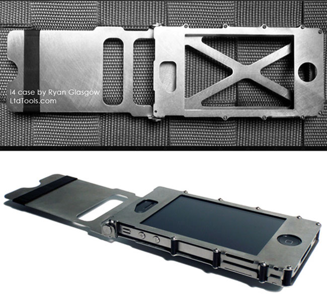 super popular bcffe b9a1f Full Metal Jacket Case For Your iPhone 4