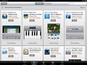Apple Adds Genius To The iPad