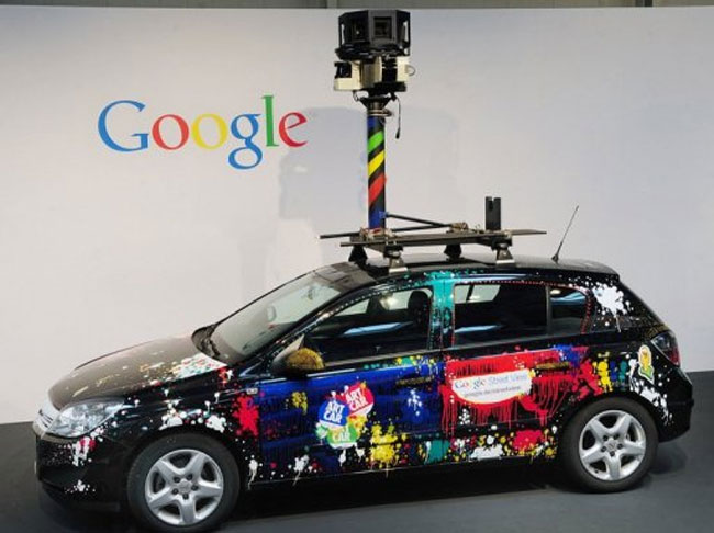 Google Street View Cars Hit The UK Streets