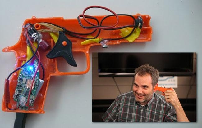 gun bluetooth headset