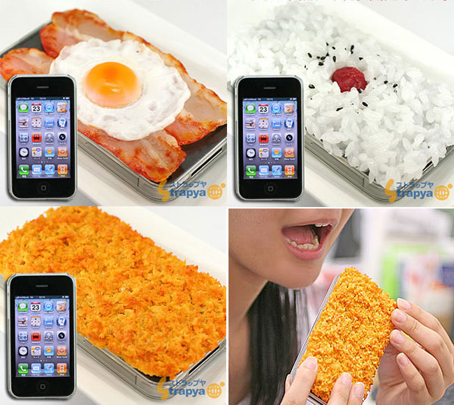 iMeshi iPhone 4 Food Cases