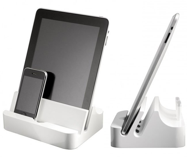 Ipadock The Docking Station Allows Multiple Ipads And Iphones