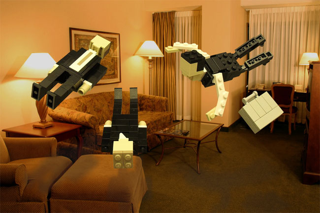 Inception Gets Recreated In Lego