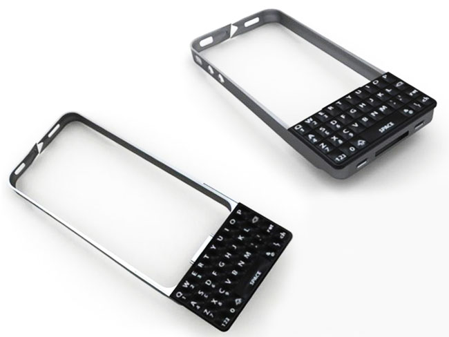 iphone physical keyboard