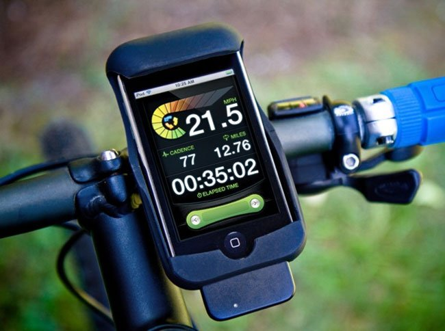 LiveRider Kit Turns Your iPhone, iPod Into A Cycling Computer